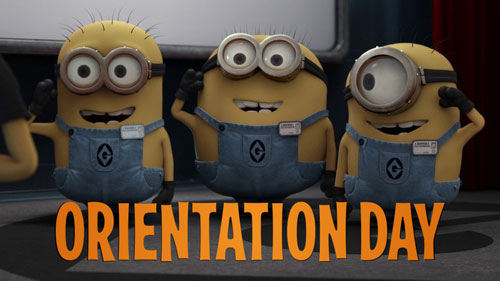 minion madness orientation day