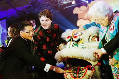 trudeau new year