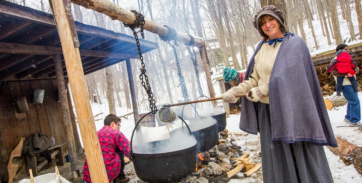 kortright centre sugarbush maple syrup festival pioneer 730x370