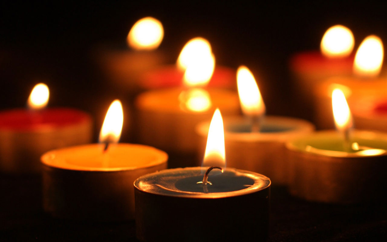 All Souls Day Candles