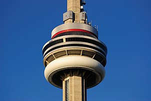 302px Toronto ON CN Tower Turmkorb