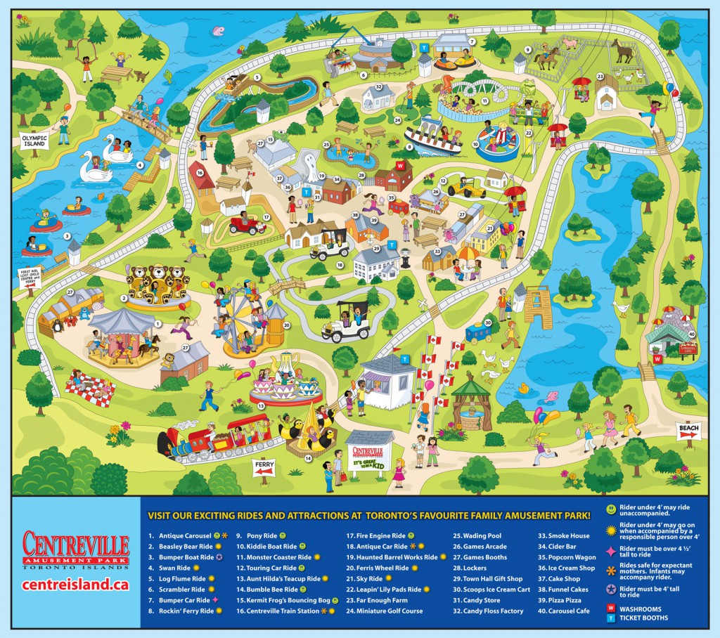 Centreville Amusement Park map1 1024x908