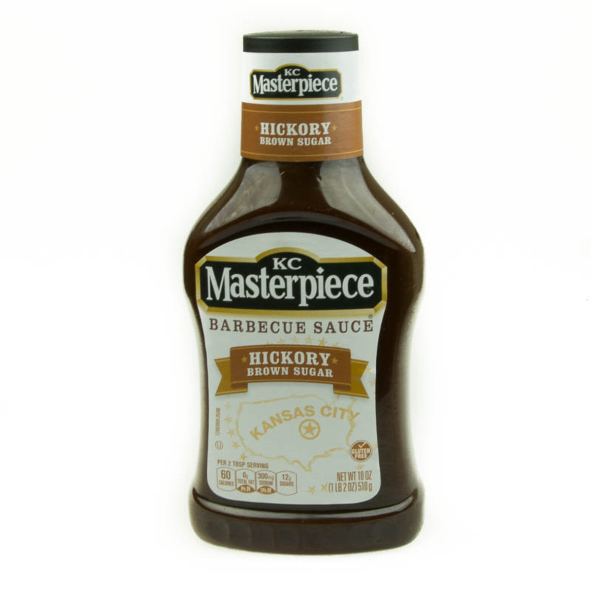 KC Masterpiece Hickory Brown Sugar BBQ Sauce 18oz media 01